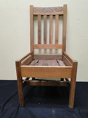 Vintage Mission Oak Quaint Furniture Side Chair