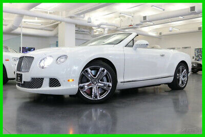 2012 Bentley Continental GT  2012 Used Certified Turbo 6L W12 48V Automatic AWD