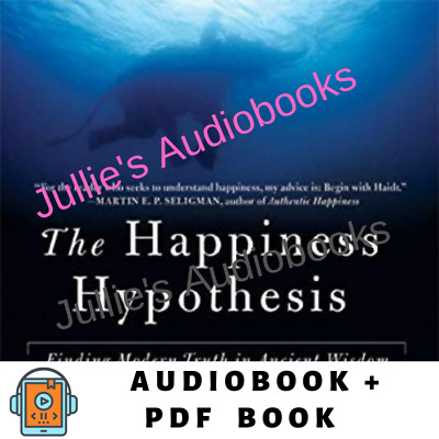 Audiobook- The Happiness Hypothesis by Jonathan Haidt Audiobook Digital Download