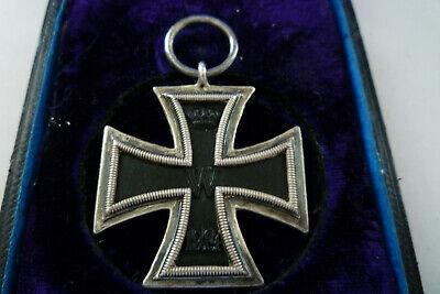 Ww1 Extra Rare  German  Iron Cross-  3/4  Prinzen Size Boxed