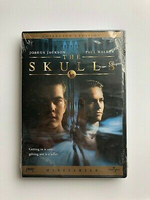 The Skulls (DVD, 2000) Widescreen, Collector's Edition | NEW IN PLASTIC