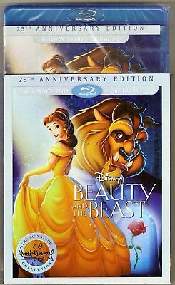 Authentic Disney Beauty and the Beast Blu-ray + DVD + Digital HD Signature