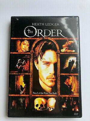 The Order (DVD, 2009) | Widescreen and Full Screen on 1 disc!
