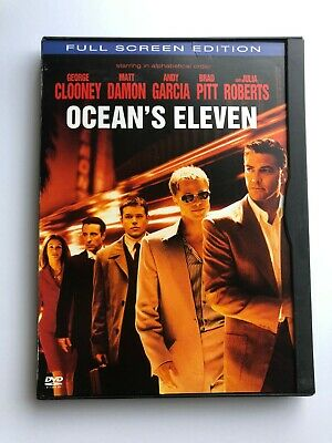 Oceans Eleven (DVD, 2002, Full Screen Edition)