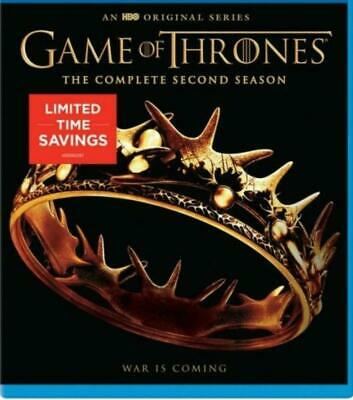 Game of Thrones: the Complete Second Season (Blu-ray, 5 Disc Set)