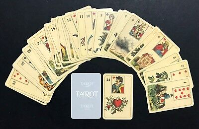 "Promotional ""Tarot Kalender"" Lenormand Fortune Telling Oracle Cards Deck Germany"