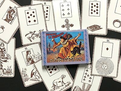 Madame Le Normands Mystic Cards of Fortune Oracle Deck 1960s Lenormand