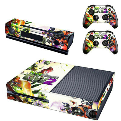 Plants vs. Zombies for Xbox One console sticker and 2 controller skins1