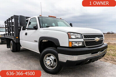 2007 Chevrolet Silverado 3500 Used extended cab flatbed 6.0 V8 auto work truck