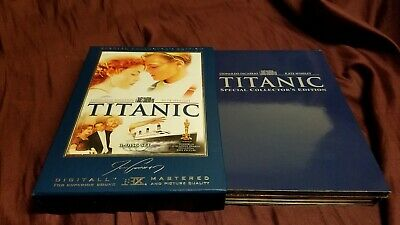 Titanic Special Collectors Edition 3 DVD! All discs like new! Ships fast!