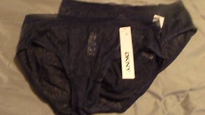 f4e1bfc606d7 DKNY MODERN LIGHTS Sheers Thong DK2 Black Large - $10.99 | PicClick