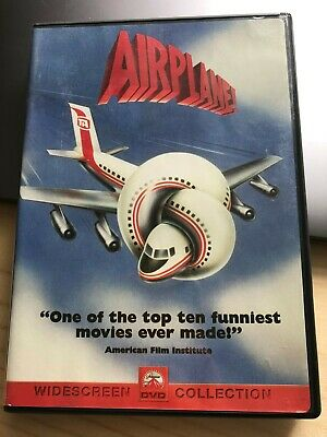 Airplane! (DVD, 1980)  Widescreen Comedy with Leslie Nielsen