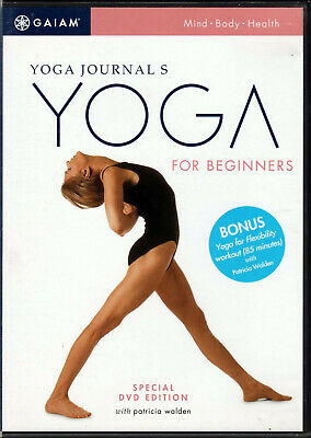 YOGA FOR BEGINNERS The JOURNAL'S Hatha DVD of STRETCHING Body WORKOUT Book VIDEO