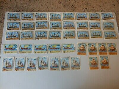 42 carribean stamps,,,,,,,43