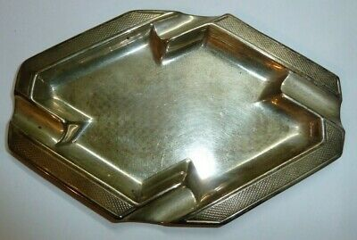 Art Deco Solid Silver Ash Tray