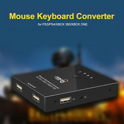 MOUSE AND KEYBOARD Converter Adapter USB for PS4/PS3/XBO ONE/XBOX 360 Gamer  Q4K2