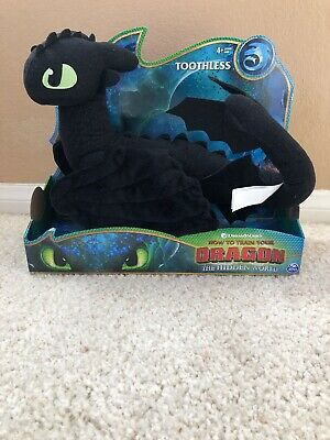 How To Train Your Dragon 3 Large Toothless Deluxe Plush Hidden World