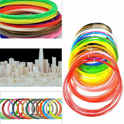 1.75mm Print Filament ABS/PLA 10M Modeling for 3D Drawing Printer Pen Multicolor