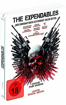 The Expendables - Limited Special Steelbook - Fsk 18 - Blu-Ray - Neu&ovp