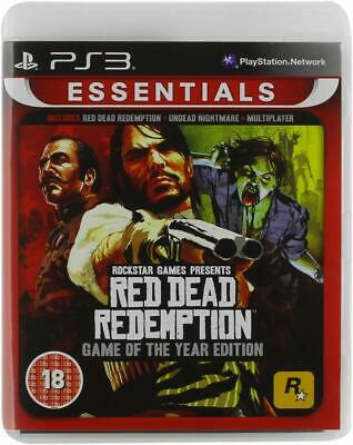 Red Dead Rachat Ps3 Goty + Undead Nightmare - Gb Pal Neuf