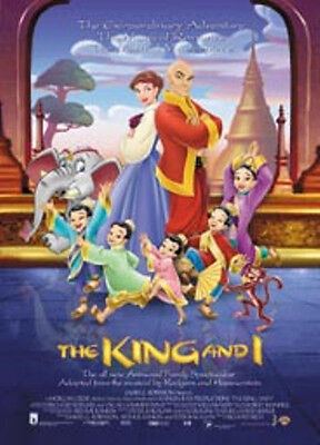 Poster THE KING AND I - Movie Sheet   Neu! (54809)