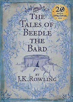 The Tales of Beedle the Bard, Standard Edition by J. K. Rowling, Hardcover Book,