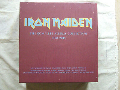 IRON MAIDEN the complete albums collection 1990-2015 13lp-parlophone years 2017