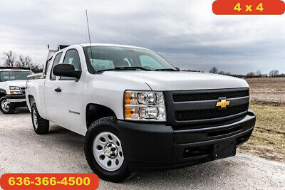 2013 Chevrolet Silverado 1500 Work Truck 2013 Work Truck Used 5.3L V8 16V Automatic 4WD Pickup Truck tool boxes clean