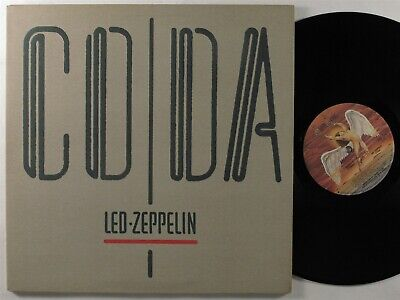 LED ZEPPELIN Coda SWAN SONG LP VG+ gatefold