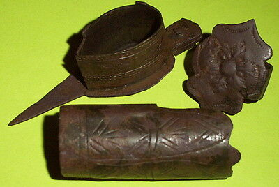 Medieval CIGAR TOOLS 1400 AD-1700 AD cutter holder band sikar old antique smoke
