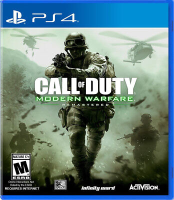 Call of Duty: Modern Warfare Remastered PS4 New PlayStation 4,PlayStation 4
