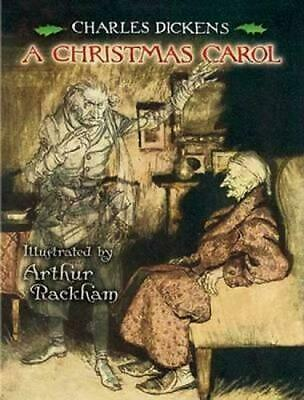 A Christmas Carol by Charles Dickens (English) Paperback Book Free Shipping!