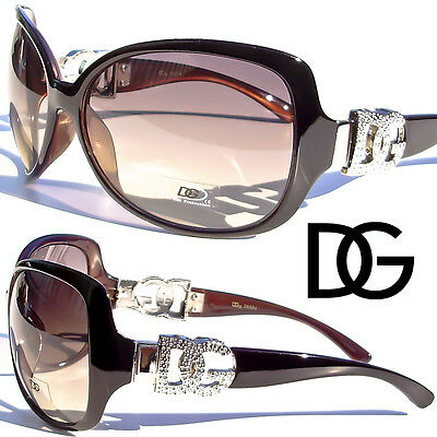 Large DG Sunglasses Fashion Vintage Retro Designer Eyewear UV Protection