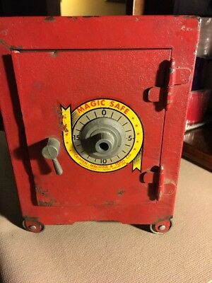 Cripppon Machine & Tool Co. Magic Red Safe