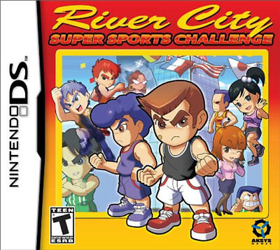 River City Sports Challenge NDS New Nintendo DS