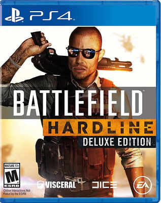 Battlefield Hardline Deluxe PS4 New PlayStation 4, playstation_4