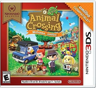 Animal Crossing: New Leaf (Select) 3DS New Nintendo 3DS, Nintendo 3DS
