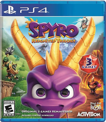 Spyro Reignited Trilogy PS4 New PlayStation 4,PlayStation 4