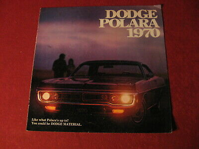 1970 Dodge Polara Big Dealership Sales Brochure Booklet Catalog Old Book