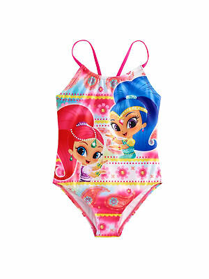 60dae12e7f278 SHIMMER AND SHINE Little Girls One Piece Swimsuit Swimwear 8814257ME ...