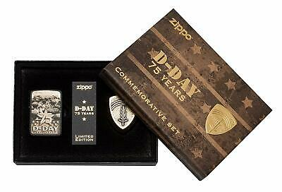 Zippo D-Day 75th Anniversary Lighter 29930