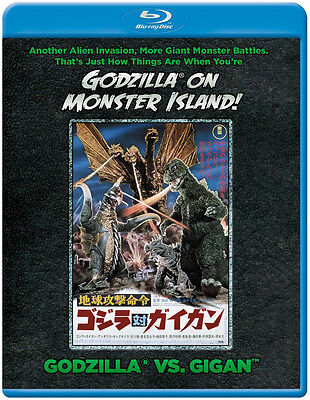 Godzilla vs. Gigan Godzilla on Monster  Island BLURAY NEW, SEALED! USA RELEASE!