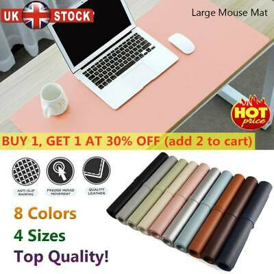 Fantastic New Large Leather Computer Desk Mat Table Keyboard Mouse Pad Beutiful Home Inspiration Ommitmahrainfo