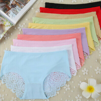 Sexy Women Lady Sexy Briefs Lace Shorts Panties Underwear Knickers Underpants