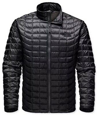 Nwt The North Face Men Thermoball Tnf Black Jacket Standard Fit 100% Authentic