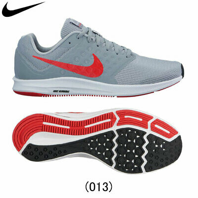 fc96cb6f8d6a Nib Men s Nike 852459 013 Downshifter 7 Grey red Running Sneakers Shoes