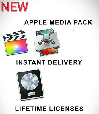 Final Cut Pro X + Logic Pro X /Instant Delivery/Lifetime License/+GIFT/