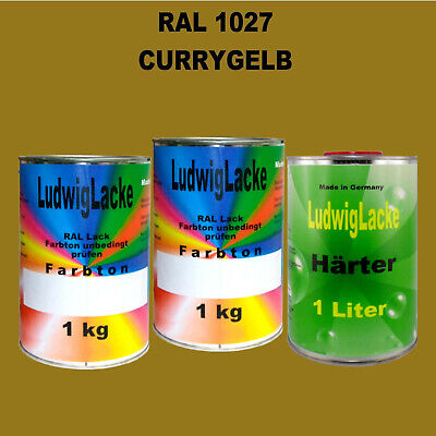 Ral 1027 Curry Jaune 3 Kg
