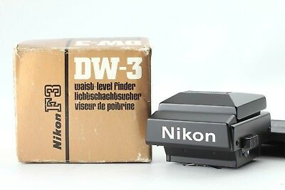【Mint in Box】 Nikon DW-3 Waist Level Finder for F3 camera From JAPAN #A305