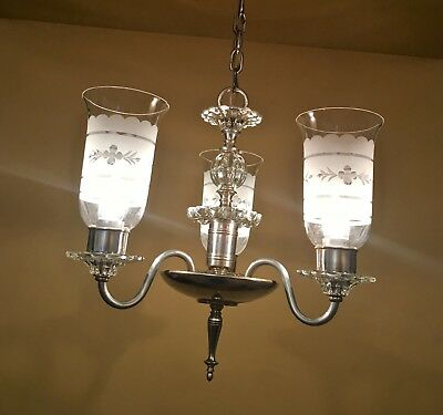 Vintage Lighting lovely 1940s chandelier